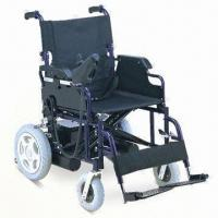 Wholesale Powered Wheelchair with Powder Coating Steel Frame from china suppliers