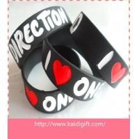 Buy cheap wholesale custom bulk cheap silicone wristband from wholesalers
