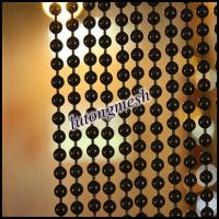Wholesale Black color metal decorative bead curtain from supplier from china suppliers