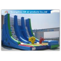 Wholesale OEM Island Theme Inflatable Water Slides For Teenagers In Graden / Park / Backyard from china suppliers