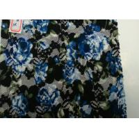Wholesale Flower Shape Digital Printed Fabric At Home , Spandex and Nylon Content from china suppliers