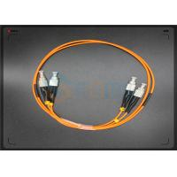 Wholesale PC / UPC Optical Fiber Patch Cord Duplex LSZH Duplex FC -  FC patch cord from china suppliers