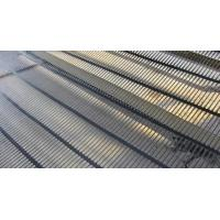 Quality High Intensity PP Plastic Uniaxial Geogrid 25KN/M for Retaining Wall for sale