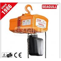 Wholesale CE Approved Electric Chain Hoist With Hook , High Efficiency Construction Lifting Equipment from china suppliers