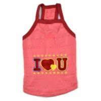Wholesale pet clothes dog vest for summer days T-shirt cotton material from china suppliers
