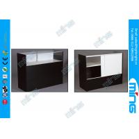 Wholesale Shopping Mall Commercial Jewelry Display Cabinets with Light in Black from china suppliers