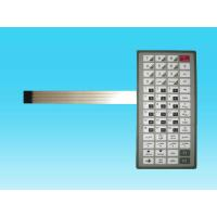 Wholesale Flat Tactile Flexible Metal Dome Membrane Switch PVC For Computer Keyboard from china suppliers