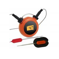 Wholesale Wireless Remote Digital Kitchen Thermometer Mobile Operated With Dual Probes from china suppliers