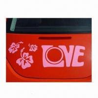 Wholesale Car Sticker with High Temperature Resistance, Freezing-resistant, OEM Orders are Accepted from china suppliers