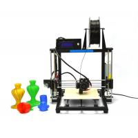 Wholesale Rapid Prototyping Desktop 3D Printer , Prusa i3 Aluminum 3D Printer from china suppliers