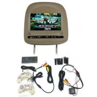"""Wholesale SD / USB Car Headrest Monitors IR 7"""" HD With Two Way AV Input from china suppliers"""