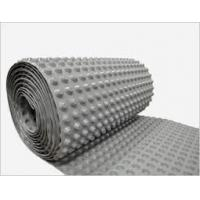 Wholesale Dimpled Drainage Polyethylene Sheet , Basement Waterproofing Dimpled Membrane from china suppliers