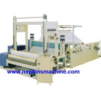 Wholesale Full Automatic Paper Roll Slitting Rewinding Machine For Napkin / Facial Tissue from china suppliers