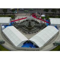 Wholesale 20M X 60M White Marquee Tents Exhibition PVC Sidewall Aluminium Frame Assemble Custimided Size from china suppliers