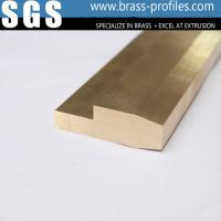 Quality Metal Alloy Copper Brass Extrusions Mouldings for Electronic for sale