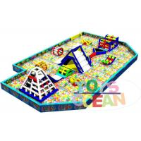 Wholesale Outdoor Inflatable Playground Funny Inflatable Giant Ocean Ball Pool For Kids from china suppliers