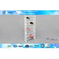 Wholesale Multi-Layer Metal Shoe Racks and Article Rack / Doorway Plastic Shoes Display Shelf from china suppliers