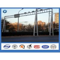 Wholesale Traffice Signal Frame Structure street sign posts , Above 95% Penetration rate road sign pole from china suppliers