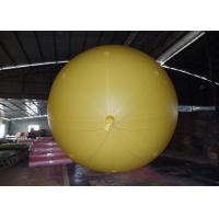 Wholesale Yellow Inflatable Advertising Balloons For Commercial Advertising  2.5m Diameter from china suppliers