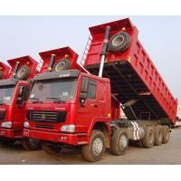 Wholesale Dump Truck good Promotion brand SINOTRUK HOWO 12 Wheels tipper Overloading Capacity from china suppliers