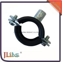 Wholesale Galvanized Iron Cast Iron Pipe Clamps With EPDM Rubber M8 M10 Nut from china suppliers