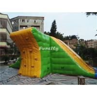 Wholesale Amusement Park Water Floating Inflatable Action Tower Size 9M*8M*3M from china suppliers