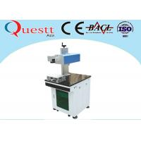 Wholesale Easy Moving Laser Wire Marking Machine , 3W White Plastic Engraving Machine from china suppliers