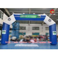 Wholesale Blue Commercial Inflatable Arch For Promotional Event With Detachable Printing from china suppliers
