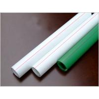 Wholesale White Green Eco-Friendly PPR Water Pipe PN25 / PPR Water Conduit from china suppliers