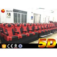Wholesale 2.25 KW Platform Electric 4D Theater System with 2-200 Seats Suitable for Amusement Park from china suppliers