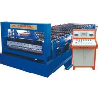 Wholesale Flat Sheet Corrugated Roll Forming Machine With 250mm H Shape Steel Welding from china suppliers