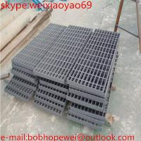 Wholesale Grating Ditch Cover Steel Gratings Trench Cover from china suppliers