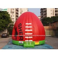 Wholesale AFL Australian Football Inflatable Bouncy Castles For Kids Outdoor Parties from china suppliers