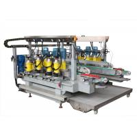 Wholesale 6 Motors Glass Grinding Machine Straight Line Double Edging Machine from china suppliers