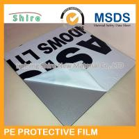 Wholesale Solvent Based  PE Protective Film polyethylene roll with Medium Adhesive from china suppliers
