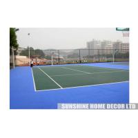 Wholesale Modified Polypropylene Badminton Court Mat , Interlocking Outdoor Badminton Flooring from china suppliers