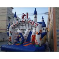 Wholesale Fairy Tale Style Kids Commercial Inflatable Slide With Jumping Castle Bouncer Combo from china suppliers