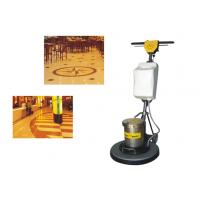 Wholesale Iron Handle Tile / Hard Floor Cleaning Machines floor scrubber 450mm 1500W from china suppliers