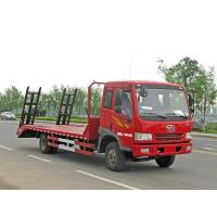 Wholesale FAW 8.8ton 4*2 flatbed truck from china suppliers