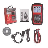 Wholesale Original Autel AutoLink AL539 OBDII / CAN SCAN TOOL Internet Update Multilingual Menu from china suppliers