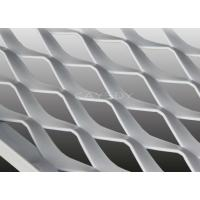 Wholesale Diamond , Hexagonal Pattern PE Or PVC Coated Perforated Metal Mesh Ceiling For Ventilation from china suppliers