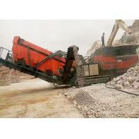 Wholesale Strong Broken Ability Mobile Crushing Plant Flexible Configuration / Wide Application from china suppliers