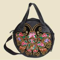Wholesale Chinese embroidery bag women messenger bag designer brand real leather bag from china suppliers