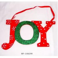 Wholesale Christmas Words Wall Decoration,  door hanger , holiday gifts from china suppliers