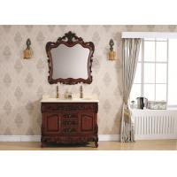 Wholesale Pear Classic Bathroom Cabinets Wooden Cloakroom Wall Hung Vanity Unit Ceramics Sink from china suppliers