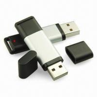 Wholesale Custom Printed AbS Write Protection 32MB, 64MB, 128MB Metal Usb Drives Flash Disk Security from china suppliers