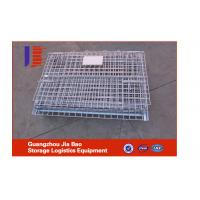 Wholesale Folding 1000L High Capacity Steel Storage Cages For Workshops 950*750*700mm from china suppliers