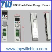 Wholesale Promotional Custom PVC USB Thumb Drive Unique Company Product from china suppliers