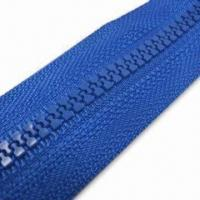 Wholesale Plastic Long Chain Zipper, Comes in Various Colors, with Excellent Quality from china suppliers