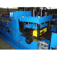 Wholesale Galvanized Steel CZ Purlin Roll Forming Machine Hydraulic Hole Punching CE Standard from china suppliers